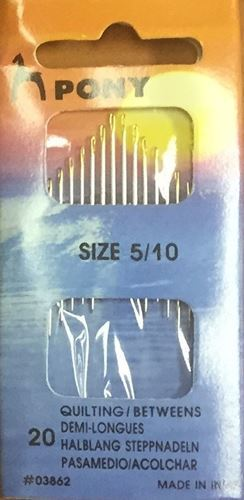 Picture of Quilting Needles Size 5/10