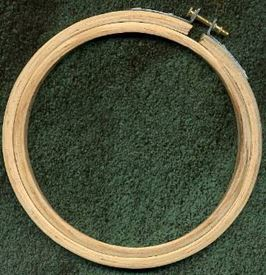 "Picture of 6"" Embroidery Hoop"