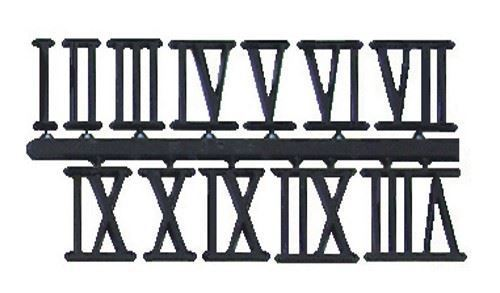 Picture of Black Roman Numerals