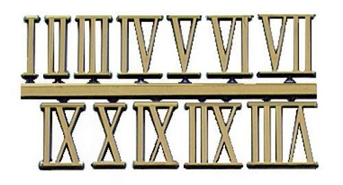 Picture of Gold Roman Numerals
