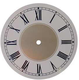 Picture of 170mm White Clock Face