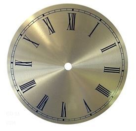 Picture of 110mm Gold Clock Face