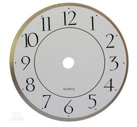 Picture of 150mm White Clock Face