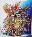 Picture of Sparkly Funky Owl