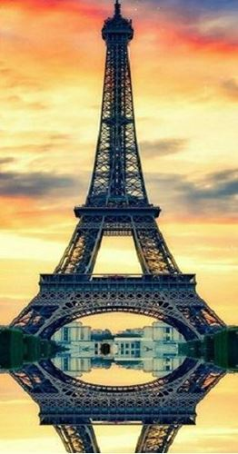 Picture of Eiffel at Sunset
