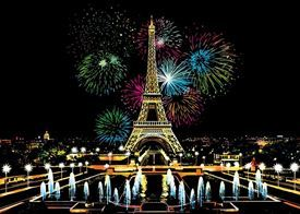 Picture of Fireworks - Paris
