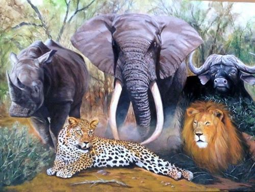 Picture of African Big 5