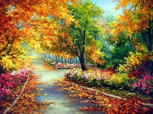 Picture of Autumn Walkway