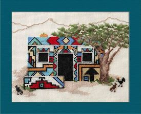 Picture of Ndebele Home