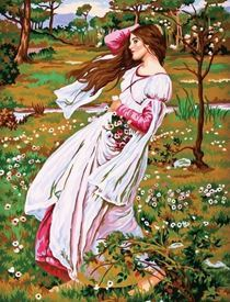 Picture of Lady in the Wind