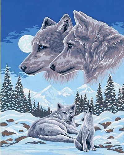Picture of Majestic Wolves