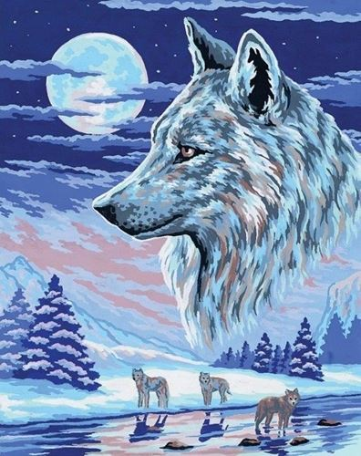 Picture of Moonlit Wolf