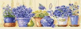 Picture of Shelf, Lavender, Herbs