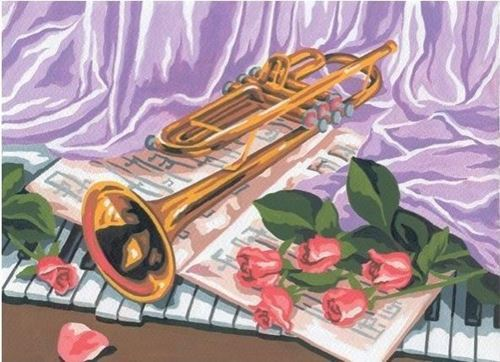 Picture of Trumpet Still Life