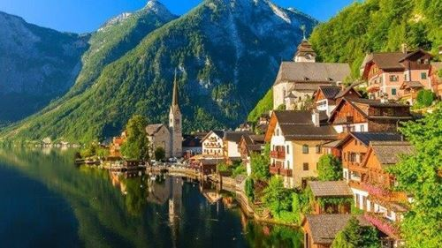 Picture of European Town