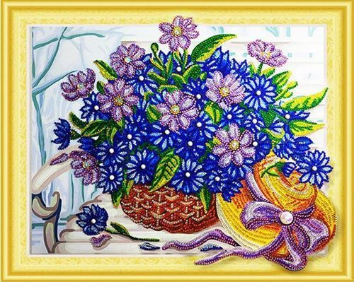 Picture of Sparkly Purple Bouquet
