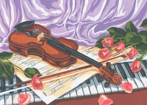 Picture of Violin Still Life
