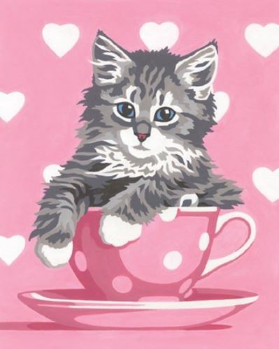 Picture of Kitten Tea Cup