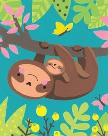 Picture of Sloth and Baby