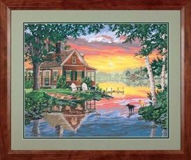 Picture of Sunset Cabin