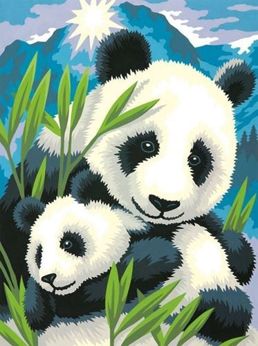 Picture of Panda and Cub