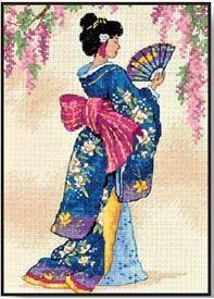 Picture of Elegant Geisha