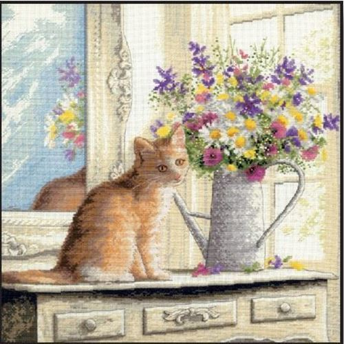 Picture of Kitten in the Window