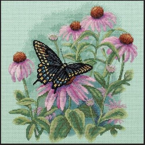 Picture of Butterfly & Daisies