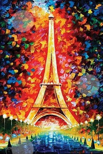 Picture of Colourful Eiffel