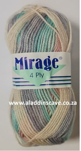 Picture of Mirage 4Ply Print - 301 Guava Sorbet