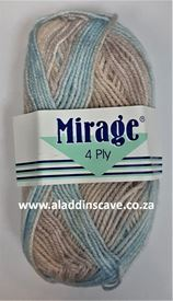 Picture of Mirage 4Ply Print - 303 Cinnamon Snap