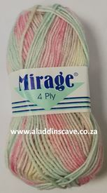 Picture of Mirage 4Ply Print - 305 Smartie Swirl